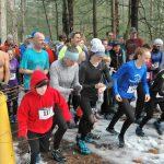 Runners beginning 5k race