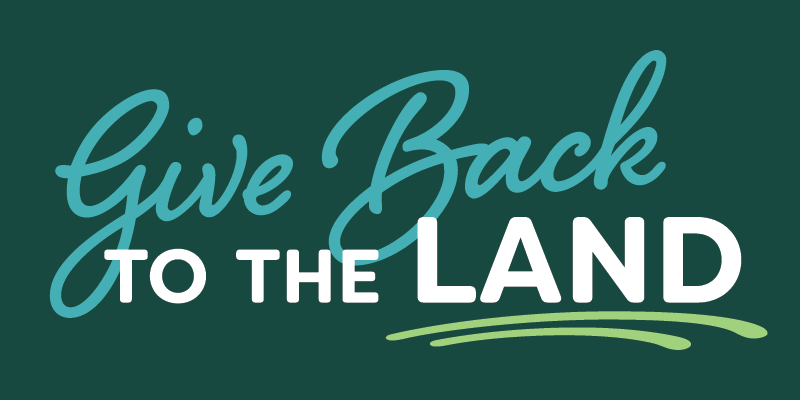 Give Back to the Land Day logo