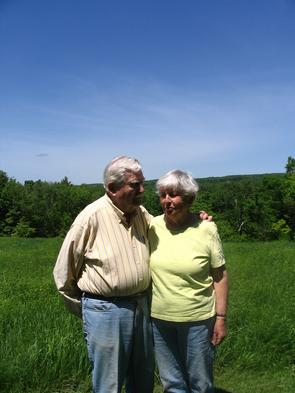 Ruth & Dave Pardoe Joy Hill, Huntington, MA